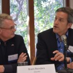 two panelists in dialogue at UT Energy Week 2015